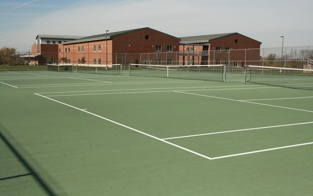 Lakota Plains Junior High School Tennis Courts