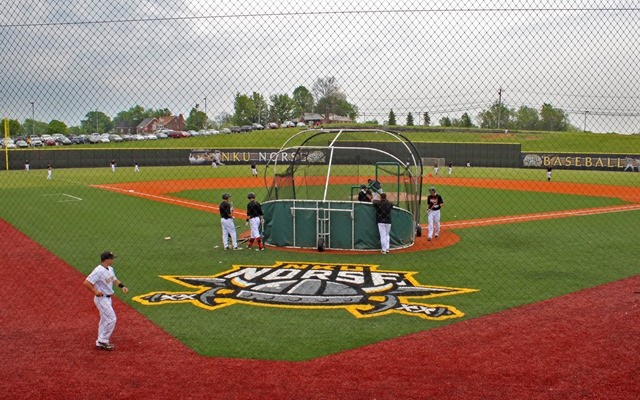 Sportworks Field Design designed the NKU synthetic turf infield